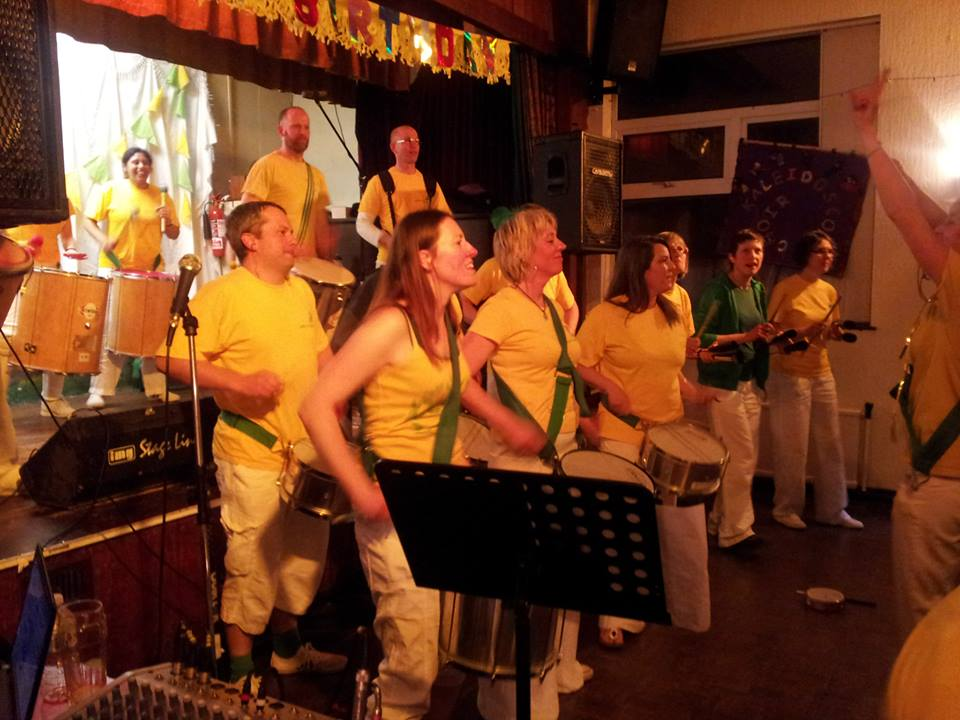 Calidoscopio's 5th - Brazilian Samba Drumming, Derby
