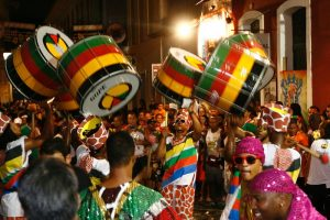 Carnival drumming course for beginners with Calidoscopio